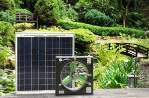 solar powered exhaust fan