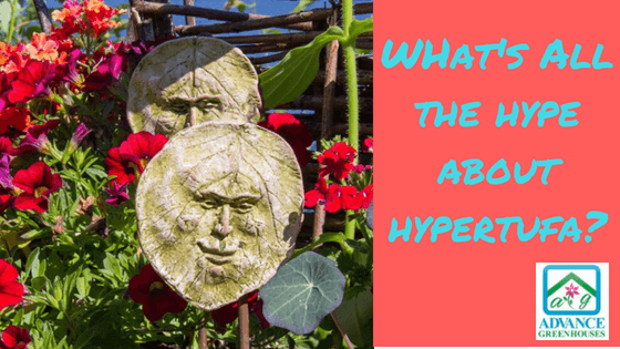 DIY Hypertufa containers and garden art