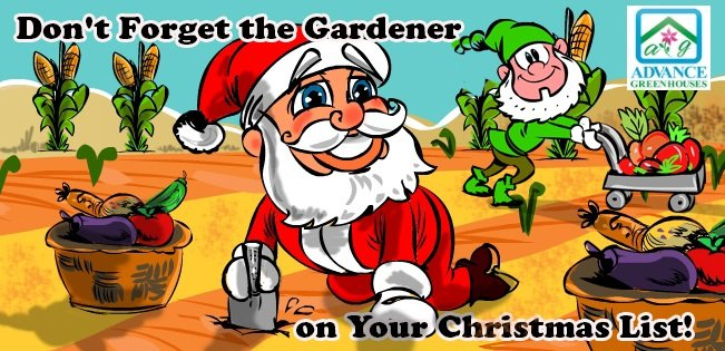 Don't forget the gardener on your Christmas list.