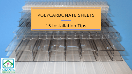 Installing Polycarbonate