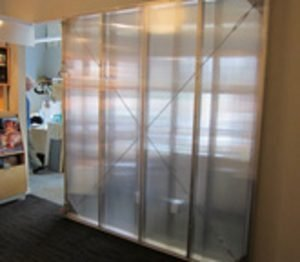 Polycarbonate Office Partition