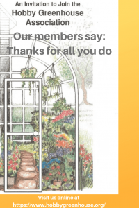 hobby greenhouse association