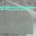 Polycarbonate Greenhouses are the Best